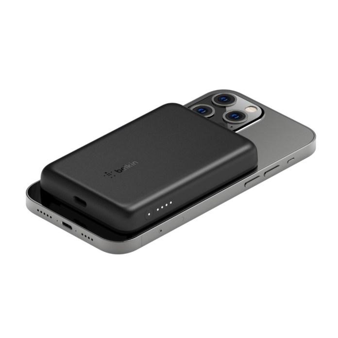 apple magsafe 外接式電池 belkin 磁力無線行動充電器
