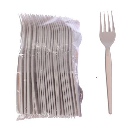 tenedor de plastico