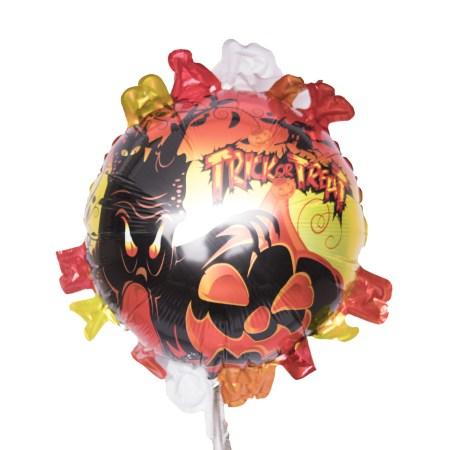 Globo con frase Halloween