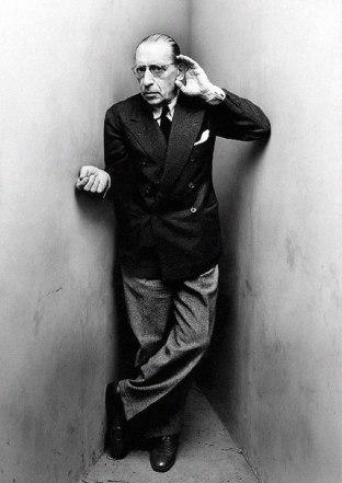 Igor Stravinsky, by Irving Penn