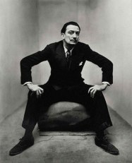 Salvador Daly, by Irving Penn