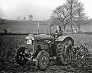 Land Girls during World War II