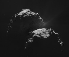 The comet 67P/Churyumov–Gerasimenko by the Rosetta spacecraft
