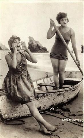 Mack Sennett Bathing Beauties, ca. 1910s-20s