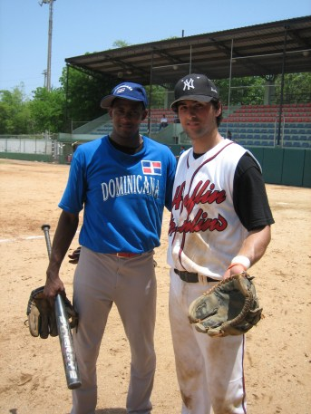 a young KOJB with the short stop on the Dominican National Team
