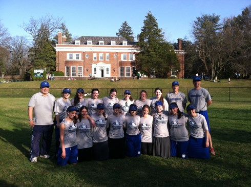 The Yeshiva University Lady Maccabees.