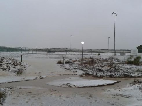 Hombo Field at Kibbutz Gezer