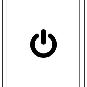 iPad power knop