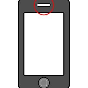 iPhone 3 oor speaker