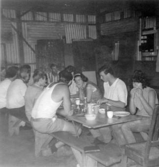 original camp dining hall 1967
