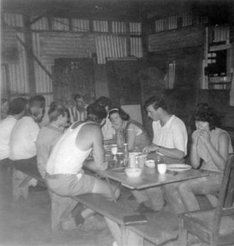 original camp dining hall 1967