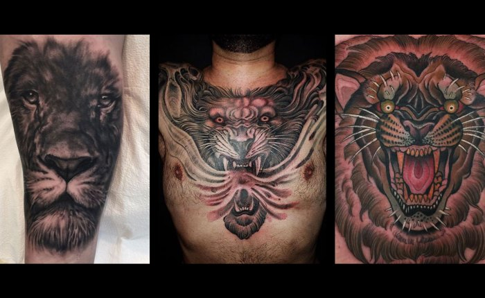 Lion Tattoos Kings Avenue Tattoo