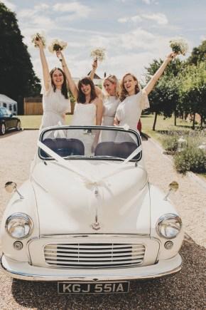Vintage Weddings Car