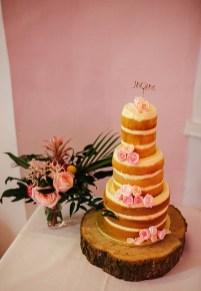 M&J's Wedding Cake