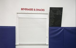 Oakville snack bar with contactless payment