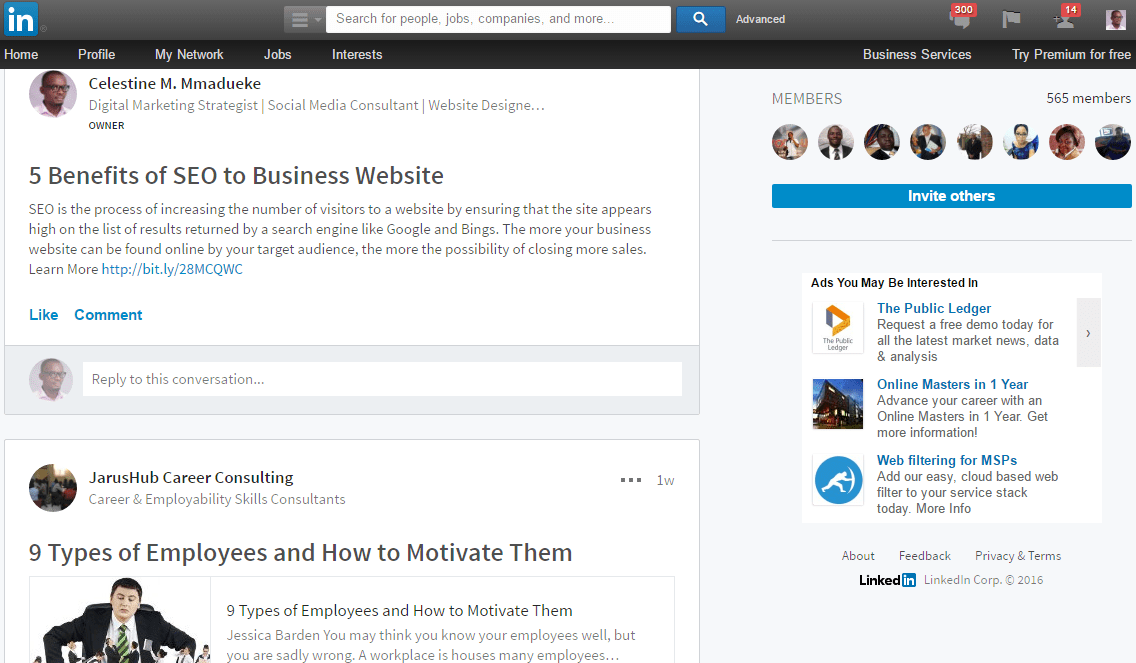 Linkedin_Group_Discussion