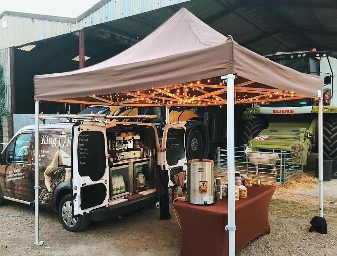 Mobile coffee Gloucestershire