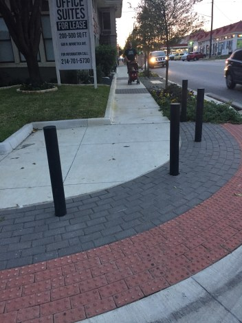 After TIF funded repairs in front of the Kessler Theatre