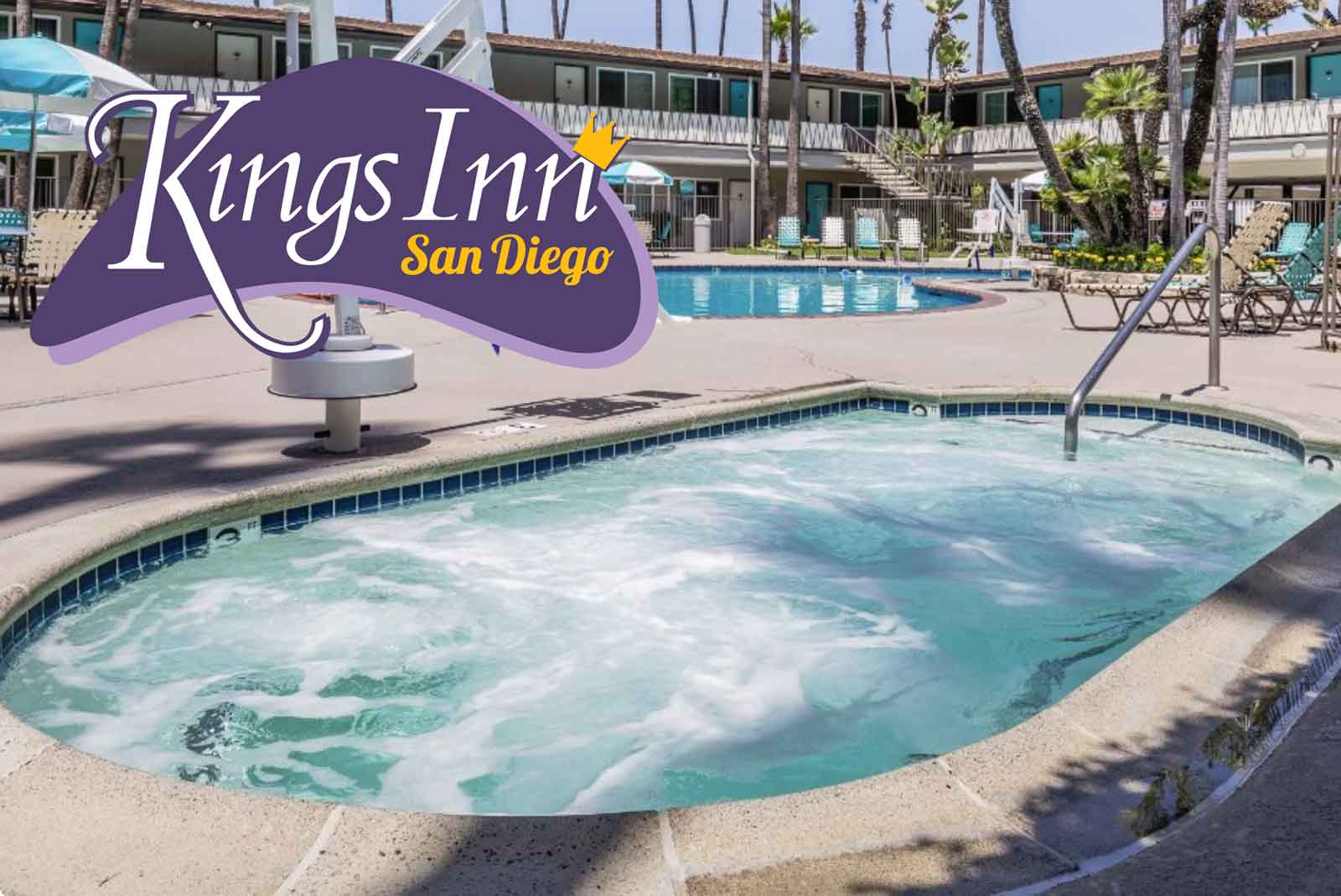 San Diego Hotel with Hot Tub — Kings Inn San Diego™
