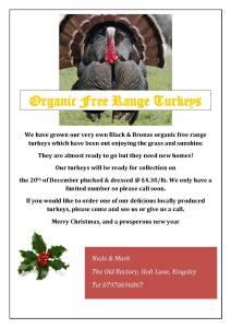 Organic Free Range Turkeyrevised1 2015