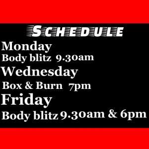 Caz Timetable