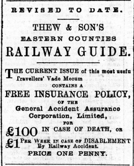 1897 Aug 6th Thew & Son