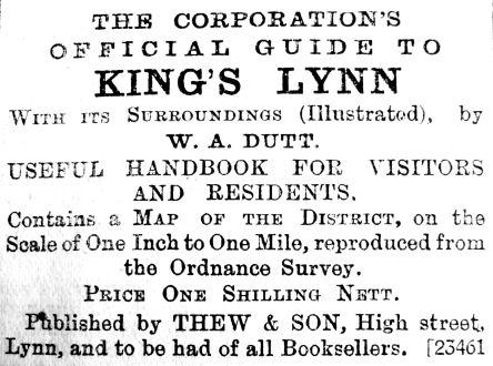 1906 June 8th Thews Lynn Guide