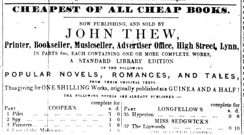 1844 Sept 7th John Thew