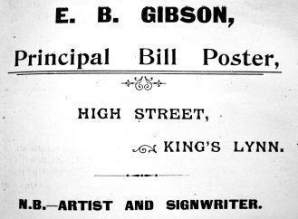 Gibson Bill Poster