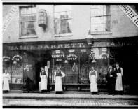 1900s Chas Barrett & staff