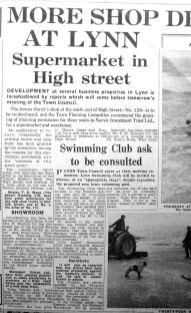 1960 June 28th High Street developments