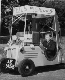 Fells advertising car 3 (John Fell)