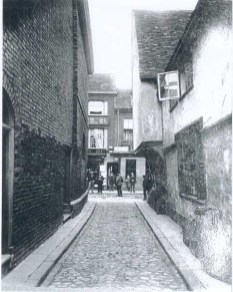 1890s Baker Lane & High St