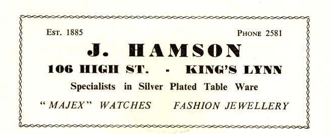 1957 KL Festival Prog