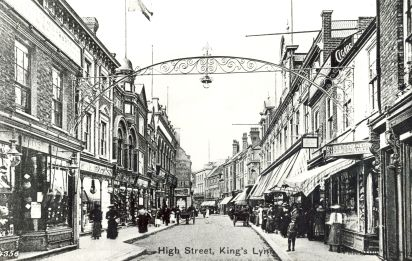1890s High St Nos 115 to 108 & 5 to 16 (Trues Yard)