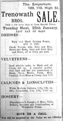 1920 Jan 7th Trenowath Bros 2