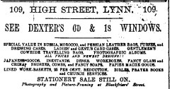 1889 Oct 9 Lyn News Dexter 109