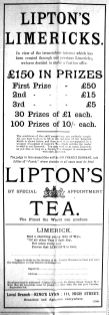 1907 Aug 23rd Liptons gscale cont