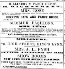 1856 May 10th Mrs Atto @ No 113