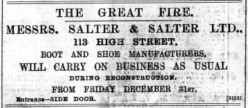 1897 Dec 31st Salter & Salter @ No 113