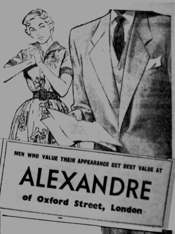 1953 Nov 27th Alexandre