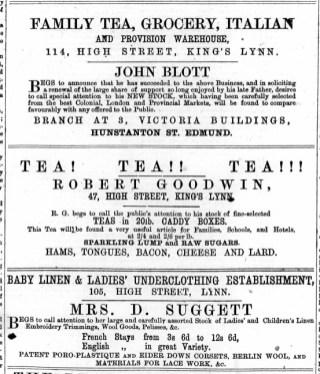 1874 October 3rd John Blott @ 114