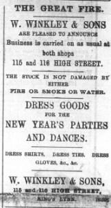 1897 Dec 31st W Winkley @ Nos 115 & 116