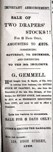 1889 Dec 14th Gemmell