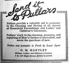 1920 Aug 27th G M Hartley