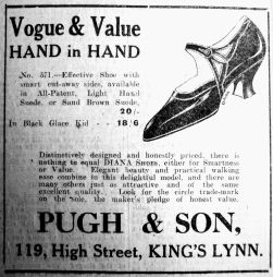 1925 June 26th Pugh & Son contrast