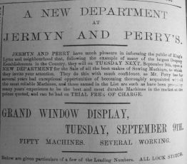 1890 Sept 6th Jermyn & Perry