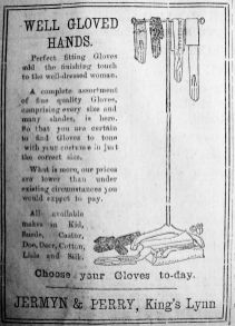 1919 May 30th Jermyn & Perry gloves