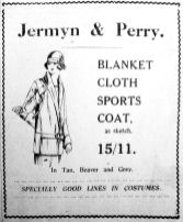 1925 May 15th Jermyn & Perry coats