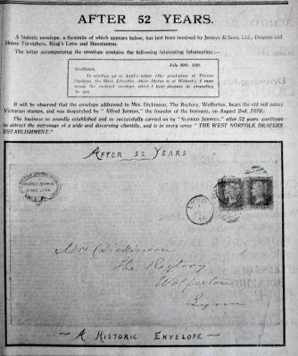 1928 Aug 17th Historic envelope